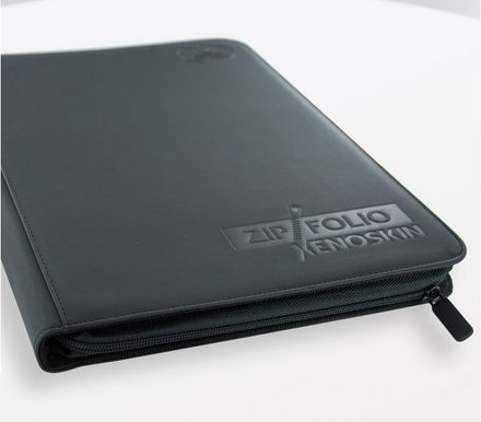 Ultimate Guard ZipFolio Xenoskin 9 Pocket Black Binder