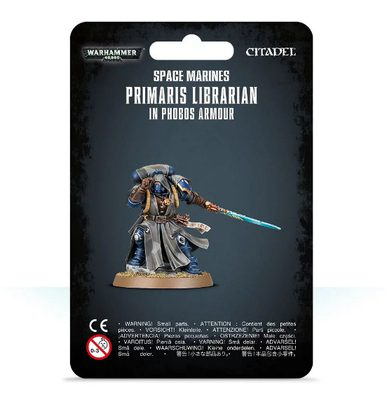 Space Marines Primaris Librarian in Phobos Armour