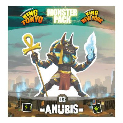 King of Tokyo/New York Monster Pack: Anubis (PREORDER)
