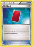 Red Card 124/146 - X&Y (Base Set)