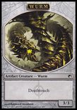 Wurm TOKEN 3/3 Deathtouch - Scars of Mirrodin