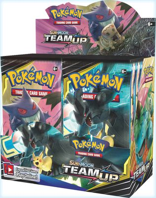 Pokemon SM9: Sun & Moon Team Up Booster Display Box