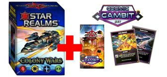 Colony Wars + Cosmic Gambit Pack