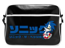 Sonic Messenger Bag: Japanese Logo