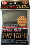 KMC Sleeves Hyper Matte Premium Black (50pcs)