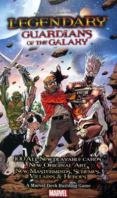 Legendary: Guardians of the Galaxy Expansion