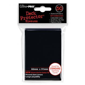Ultra Pro Sleeves Standard Size Black (50ct)