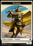 Warrior TOKEN 1/1 - Dragons of Tarkir