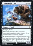 Clackbridge Troll - Throne of Eldraine Promos
