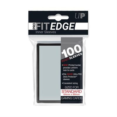 Ultra Pro Inner Sleeves Pro-Fit Edge (100ct)