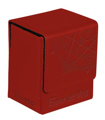 Ultra Pro Deck Box Force of Will: Flip Box, Red