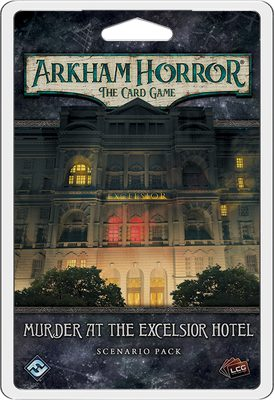 Arkham Horror LCG: Murder at The Excelsior Hotel Scenario Pack (PREORDER)