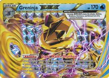 Greninja Break 41/122 - X&Y BREAKpoint