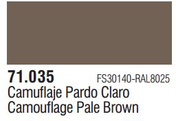 Vallejo Model Air: Camouflage Pale Brown 71.035