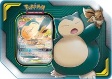 Pokemon Tag Team Tin: Eevee & Snorlax-GX