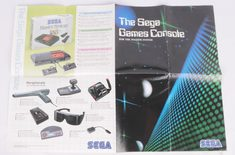 The Sega Games Console For Master System Catalog