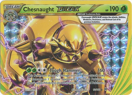 Chesnaught Break 12/162 - X&Y BREAKthrough