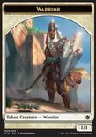 Warrior TOKEN 1/1 - Khans of Tarkir