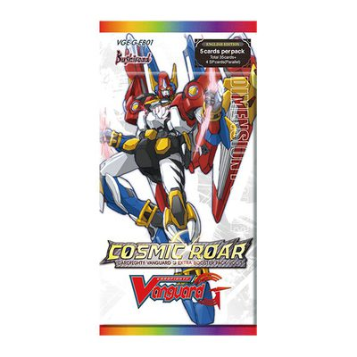 Cardfight Vanguard G Extra Booster Pack Vol. 1: Cosmic Roar Booster