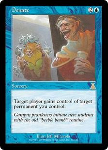 Donate - Urza's Destiny