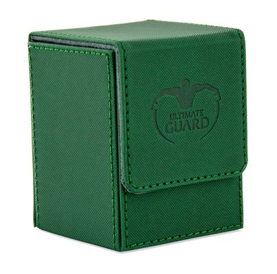 Ultimate Guard Deck Box, Flip Deck Case Xenoskin 100+ Dark Green