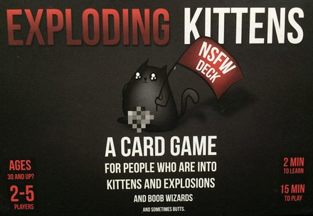 Exploding Kittens NSFW Edition (FI/SE/NO/DK)