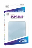 Ultimate Guard Supreme UX Sleeves Matte Transparent (80pcs)