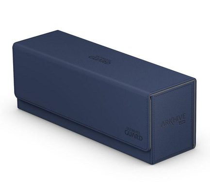 Ultimate Guard Deck Box, Arkhive Flip Case XenoSkin 400+ Blue