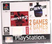 Driver & Driver 2 - 2 Games - PS1