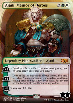 Ajani, Mentor of Heroes - Mythic Edition