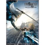 Final Fantasy TCG Sleeves: FFVII Advent Children - Cloud/Sephiroth (60pcs)