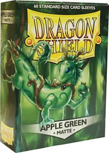 Dragon Shield Standard Sleeves Matte Apple Green (60pcs)