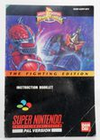 Mighty Morphin Power Rangers Fighting Edition (Manual)
