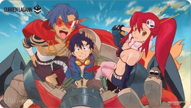 Ultra Pro Playmat Gurren Lagann: First Sky