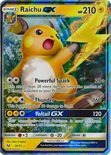 Raichu GX 29/73 - Sun & Moon Shining Legends