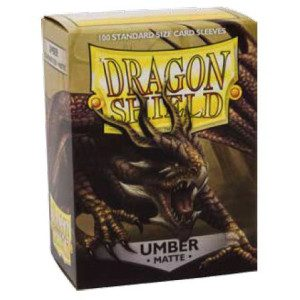 Dragon Shield Sleeves Matte Umber (100pcs)