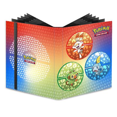 Ultra Pro Pokemon 9-Pocket Pro Binder Sword & Shield Galar Starters