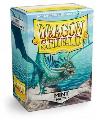 Dragon Shield Sleeves Standard Size Matte Mint (100ct)