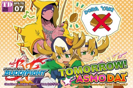 Future Card Buddyfight Trial Deck 7: Tomorrow! Asmodai