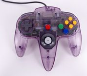 Nintendo 64 Controller (N64 Clear Purple)