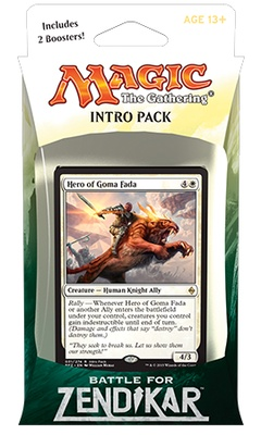 Battle for Zendikar Intro Pack: Rallying Cry