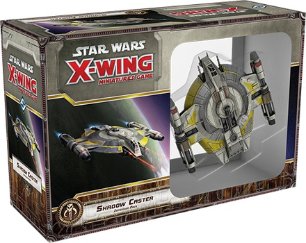 Star Wars X-Wing Miniatures Game: Shadow Caster Expansion Pack