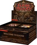 Flesh and Blood TCG Welcome to Rathe Unlimited Booster Display