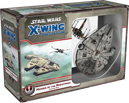 Star Wars X-Wing Miniatures Game: Heroes of the Resistance