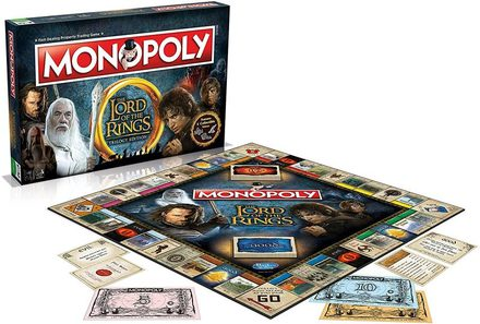 Monopoly Lord of the Rings: Trilogy Edition