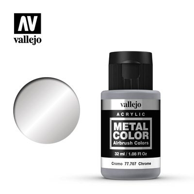 Vallejo Metal Color: Chrome 77.707 32ml