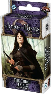 Lord of the Rings LCG: The Three Trials Adventure Pack