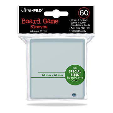 Ultra Pro Board Game Sleeves 69x69mm (50pcs)