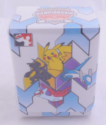 Pokemon Championship 2019 Europe Deck Box