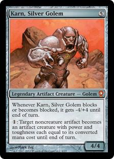 Karn, Silver Golem - From the Vault: Relics